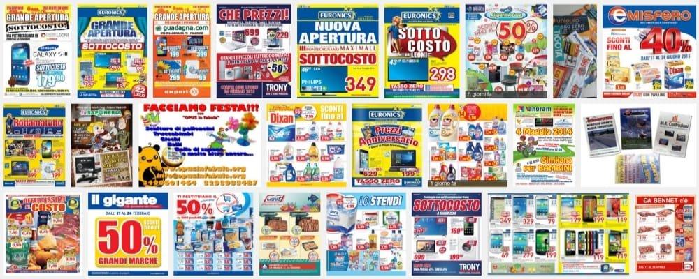 Offerte ipermercati punti vendita volantini promozioni for Volantino acqua e sapone toscana